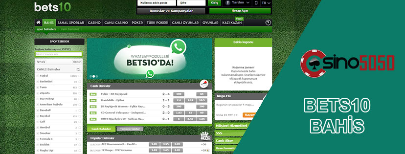 Bets10 Bahis Sitesi