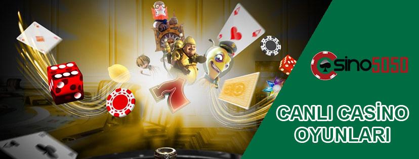 Canlı Casino Oyunları