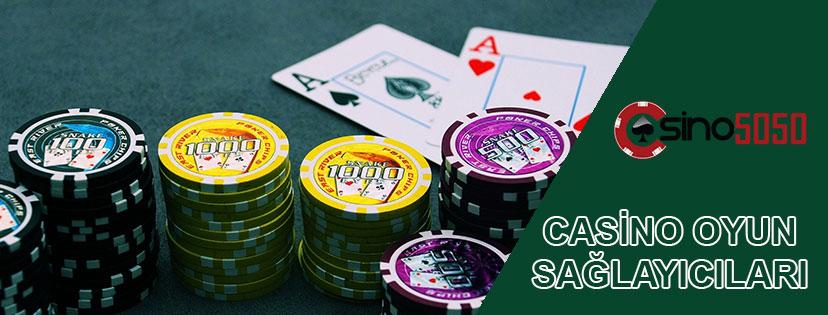 Casino Oyun Sağlayıcıları
